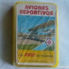 Barajas de cartas: AVIONES DEPORTIVOS. LOS MINIS DE FOURNIER. Lote 95210576