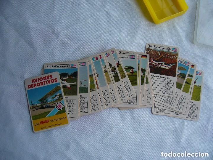 Barajas de cartas: Aviones deportivos. Los minis de Fournier - Foto 2 - 95210576
