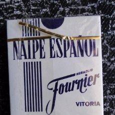 Barajas de cartas: BARAJA DE NAIPES HERACLIO FOURNIER. PRECINTO DE GARANTÍA.40 CARTAS. AGROBANESTO.. Lote 93652205
