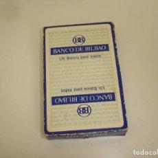 Barajas de cartas: BARAJA CARTAS, HERACLIO FOURNIER - BANCO DE BILBAO. 50 NAIPES.. Lote 93946680