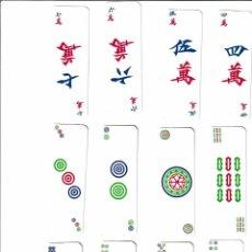 Barajas de cartas: BARAJA DE MAHJONG. Lote 94068650