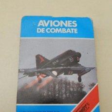 Baraja de cartas Aviones de Combate Carta Fournier 1984 84 años 80