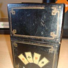 ANTIGUA BARAJA DE CARTAS DE POKER ,RUSSELL PLAYING CARD, NEW YORK, SIGLO XIX, COMPLETO