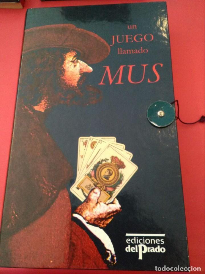 UN JUEGO LLAMADO MUS - EDICIONES EL PRADO (COMPLETO) (Juguetes y Juegos - Cartas y Naipes - Baraja Española)