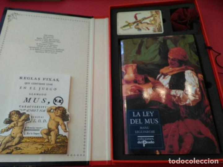 Barajas de cartas: UN JUEGO LLAMADO MUS - EDICIONES EL PRADO (COMPLETO) - Foto 2 - 94436910