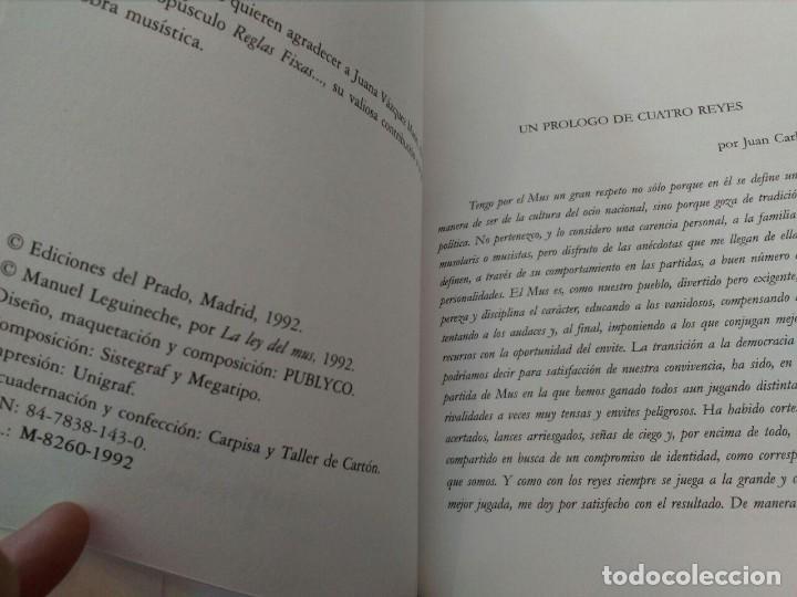 Barajas de cartas: UN JUEGO LLAMADO MUS - EDICIONES EL PRADO (COMPLETO) - Foto 4 - 94436910