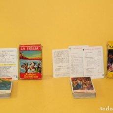 Barajas de cartas - BARAJAS LA BIBLIA - NUEVO TESTAMENTO Y ANTIGUO TESTAMENTO - FOURNIER - AÑOS 70 - 94467086