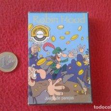 Barajas de cartas: BARAJA INFANTIL JUEGO DE NAIPES VARITEMAS 35 CARTAS CARDS ROBIN HOOD PRECINTADA. MADE IN SPAIN VER F. Lote 94710999