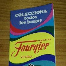 Barajas de cartas: CATÁLOGO BARAJAS FOURNIER . Lote 94715279