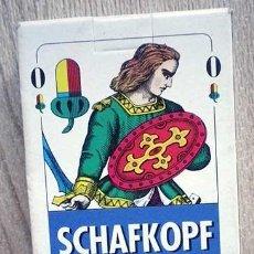 Barajas de cartas: SCHAFKOPF TAROCK BARAJA ALEMANA (BAVARA) NAIPES 36 CARTAS. Lote 210313586