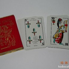 Barajas de cartas: ANTIGUA BARAJA *NAIPE ESPAÑOL POR MINGOTE* DIBUJADO POR MINGOTE E IMPRESO POR H. FOURNIER - AÑO 1969. Lote 94734539