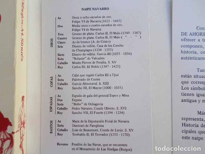 Barajas de cartas: BARAJA NAIPE NAVARRO - Foto 6 - 94942527