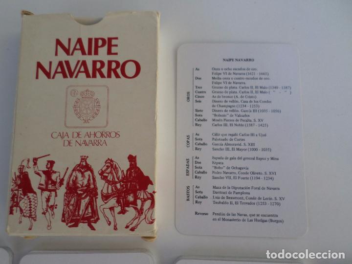 Barajas de cartas: BARAJA NAIPE NAVARRO - Foto 29 - 94942527