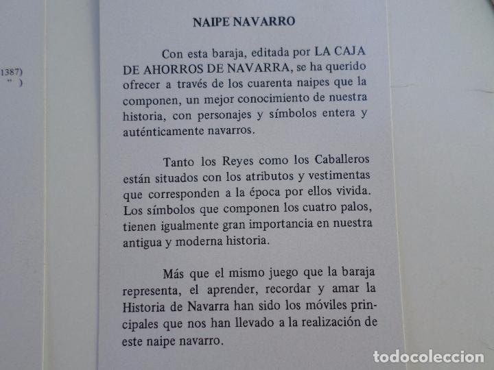 Barajas de cartas: BARAJA NAIPE NAVARRO - Foto 32 - 94942527