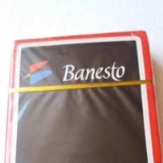 Barajas de cartas: BARAJA NAIPES FOURNIER BANESTO ROJO. Lote 94985727