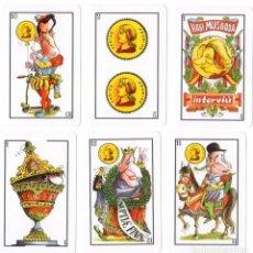 Barajas de cartas: BARAJA ESPAÑOLA BODA DE FELIPE Y LETIZIA. INTERVIU 2004. Lote 95053071