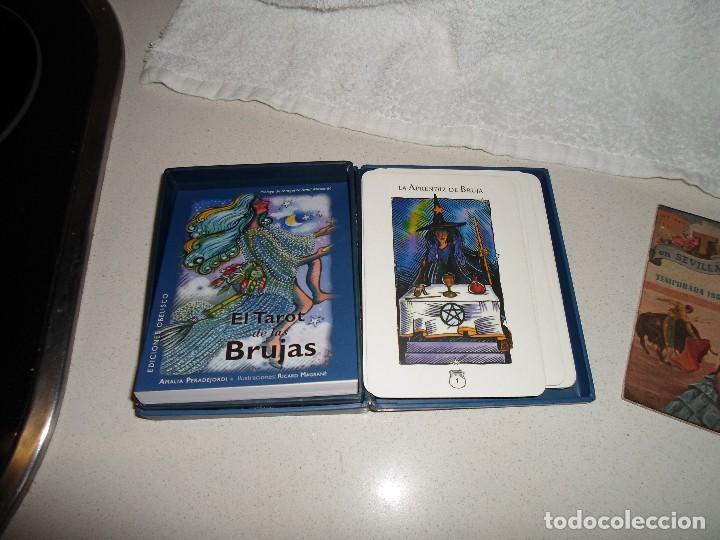 BARAJA DE TAROT TAROT DE LAS BRUJAS (Juguetes y Juegos - Cartas y Naipes - Barajas Tarot)