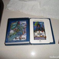 Barajas de cartas: BARAJA DE TAROT TAROT DE LAS BRUJAS. Lote 95267635