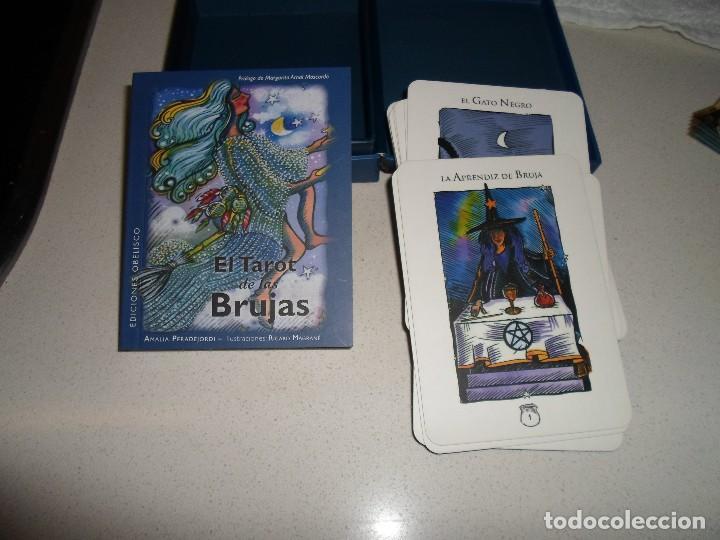 Barajas de cartas: BARAJA DE TAROT TAROT DE LAS BRUJAS - Foto 2 - 95267635