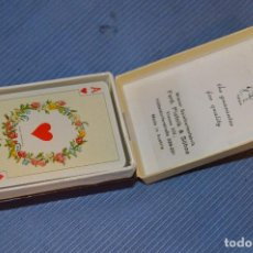 Barajas de cartas: PIATNIK / AUSTRIA - ANTIGUA BARAJA DE POKER - PRECINTADA - 6,5 X 4,5 CM. - EN SU CAJA ORIGINAL. Lote 95533691