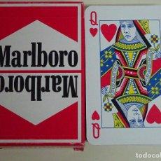 Barajas de cartas: BARAJA DE CARTAS DE PÓKER BRIDGE. TABACO TABACOS MARLBORO. CARTA MUNDI BÉLGICA. Lote 95550959