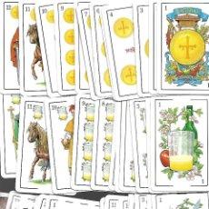 Baralhos de cartas: BARAJA ASTURIANA DE LA NUEVA ESPAÑA DE FOURNIER. Lote 95606015