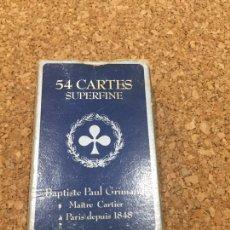 Barajas de cartas: BARAJA DE CARTAS GRIMAUD REF 390 516 POKER. Lote 95635924