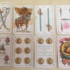 Barajas de cartas: BARAJA CARTAS SIMEON DURA DE VALENCIA. EL CID. ELABORADO EN ESPAÑA. TIMBRE 1,25 PTS. 40NAIPES.. Lote 95734124