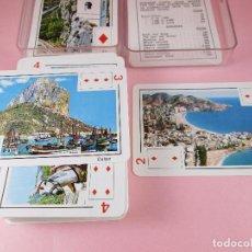 Barajas de cartas: BARAJA/CARTAS/NAIPES-COSTA BLANCA-PÓKER-NUEVA-CAJA-FOTOS DE TODOS LOS PUEBLOS-VER FOTOS.. Lote 95906267