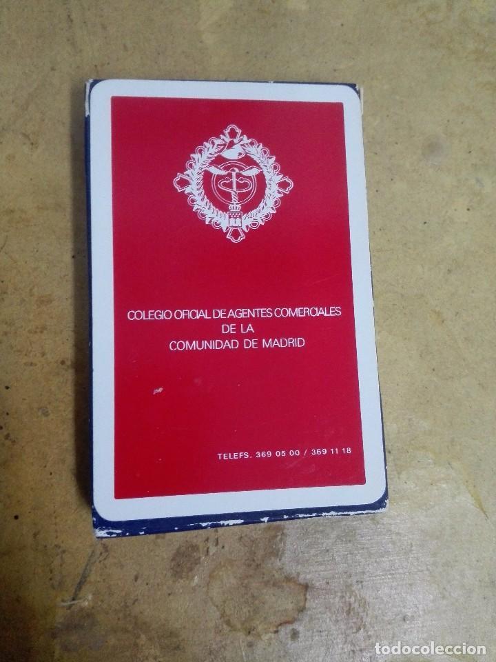CARTAS DEL COLEGIO OFICIAL DE AGENTES COMERCIALES DE LA COMUNIDAD DE MADRID, SIN ESTRENAR. (Juguetes y Juegos - Cartas y Naipes - Otras Barajas)