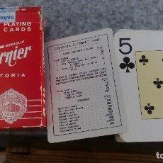 Barajas de cartas: BARAJA DE CARTAS POKER HERACLIO FOURNIER 818 VITORIA ESTAMPADO ROJO. Lote 95993563