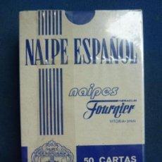 Barajas de cartas: NAIPE ESPAÑOL. FOURNIER. 50 CARTAS. PRECINTADO. SIN ABRIR. Lote 95997451