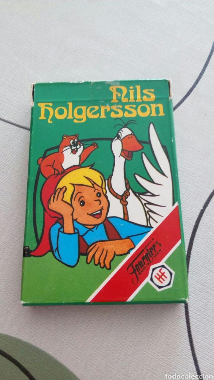 BARAJA DE CARTAS FOURNIER NILS HOLGERSSONAÑO 1980 (Juguetes y Juegos - Cartas y Naipes - Barajas Infantiles)
