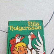 Barajas de cartas: BARAJA DE CARTAS FOURNIER NILS HOLGERSSONAÑO 1980. Lote 96024032