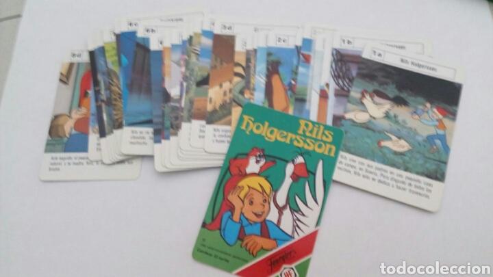 Barajas de cartas: BARAJA DE CARTAS FOURNIER NILS HOLGERSSONAÑO 1980 - Foto 3 - 96024032