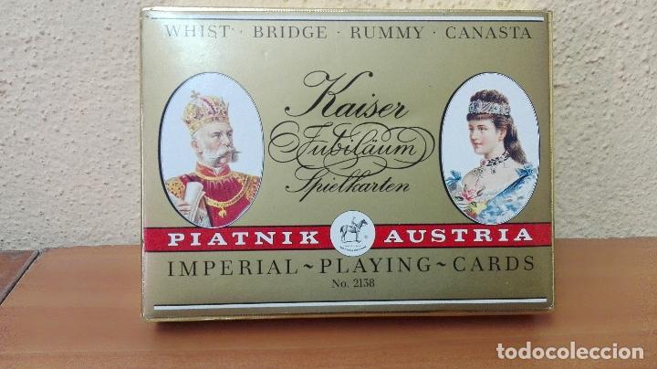 BARAJA DE CARTAS POKER (PIATNIK AUSTRIA ) NUEVAS SIN USAR , IMPERIAL-PLAYING-CARDS Nº2138 (Juguetes y Juegos - Cartas y Naipes - Barajas de Póker)