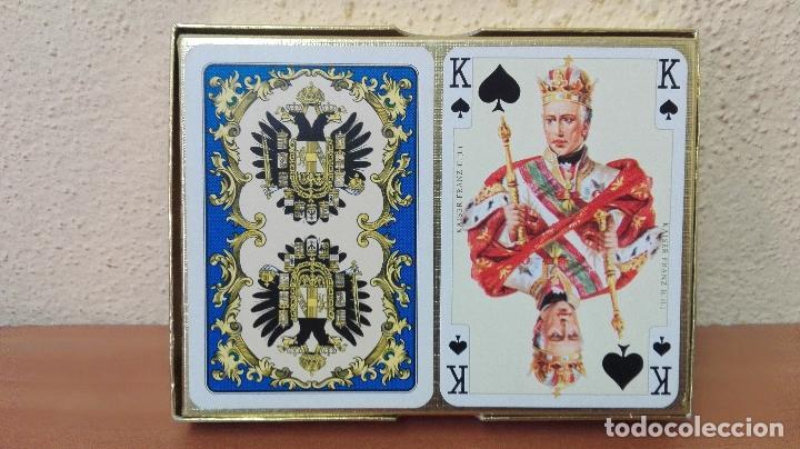 Barajas de cartas: BARAJA DE CARTAS POKER (PIATNIK AUSTRIA ) NUEVAS SIN USAR , IMPERIAL-PLAYING-CARDS Nº2138 - Foto 2 - 173587782