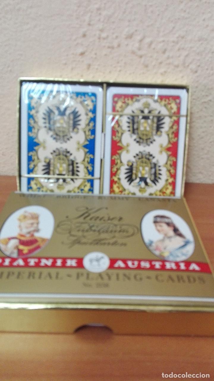 Barajas de cartas: BARAJA DE CARTAS POKER (PIATNIK AUSTRIA ) NUEVAS SIN USAR , IMPERIAL-PLAYING-CARDS Nº2138 - Foto 3 - 173587782