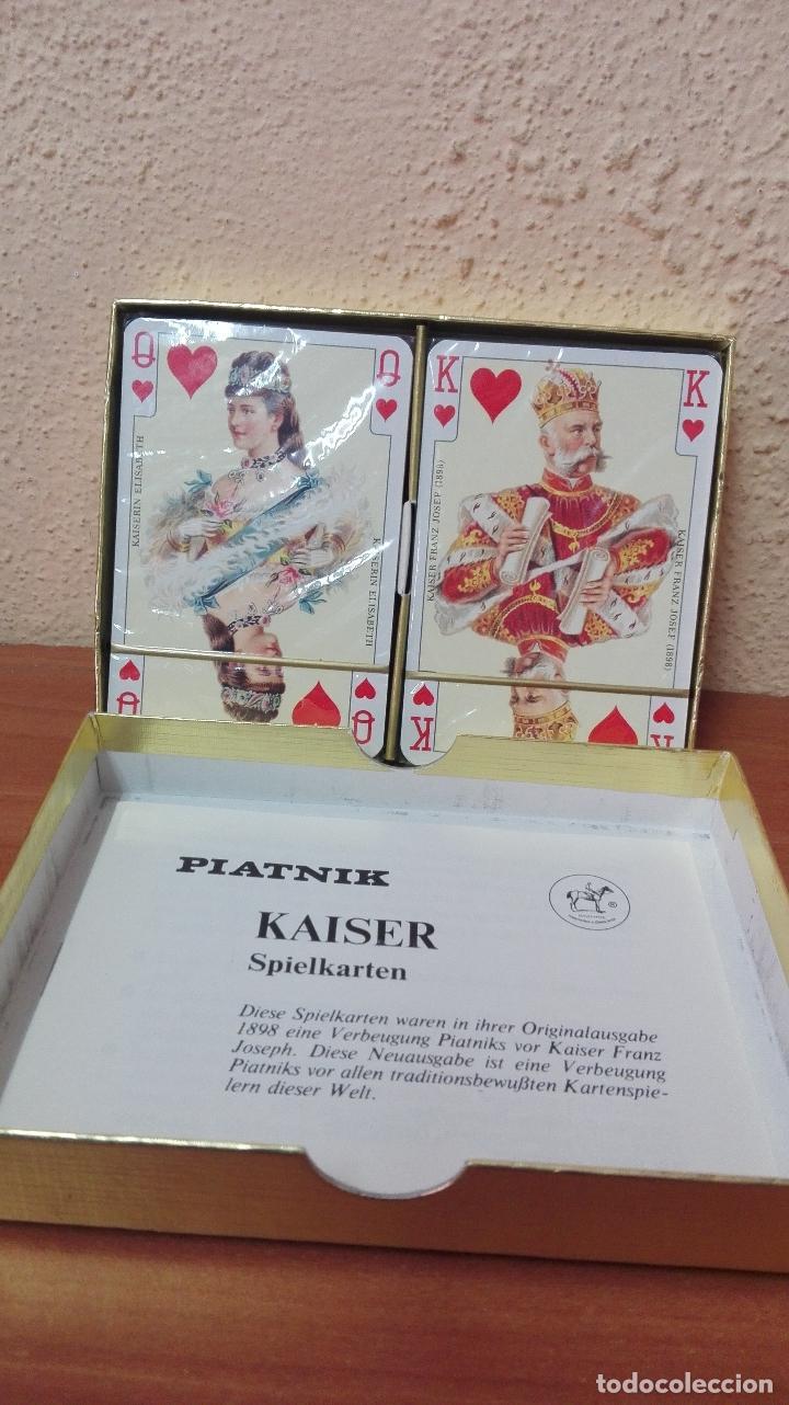 Barajas de cartas: BARAJA DE CARTAS POKER (PIATNIK AUSTRIA ) NUEVAS SIN USAR , IMPERIAL-PLAYING-CARDS Nº2138 - Foto 4 - 173587782