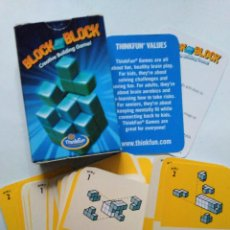 Barajas de cartas: BARAJA CARTAS BLOCK BY BLOCK CONSTRUCCION THINKFUN MINECRAFT. Lote 96431671