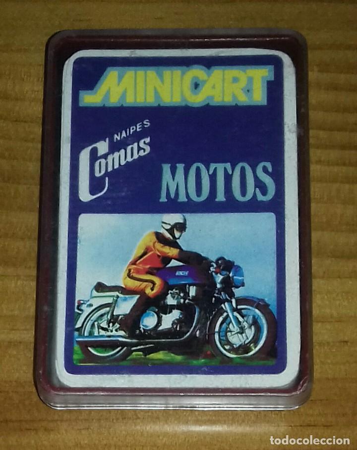 BARAJAS DE CARTAS MINICART MOTOS 1970 (Juguetes y Juegos - Cartas y Naipes - Barajas Infantiles)