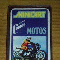 Barajas de cartas: BARAJAS DE CARTAS MINICART MOTOS 1970. Lote 96555583