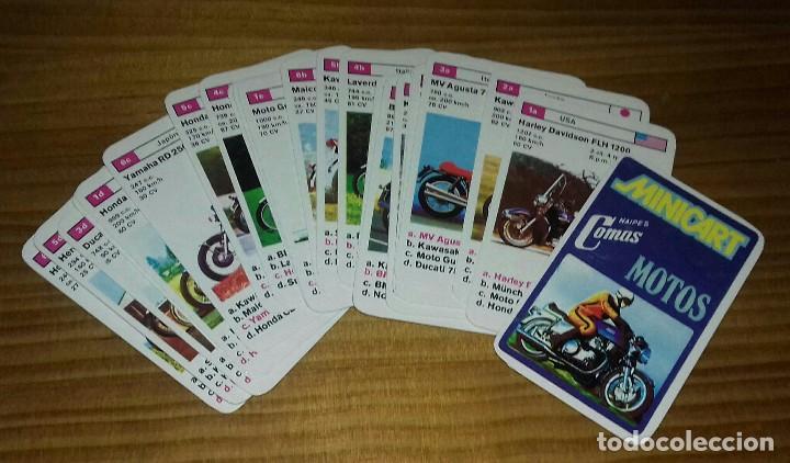 Barajas de cartas: Barajas de cartas Minicart Motos 1970 - Foto 2 - 96555583