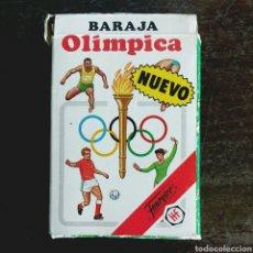 Barajas de cartas: BARAJA OLÍMPICA HERACLIO FOURNIER - COMPLETA AÑO 1988. Lote 96558952