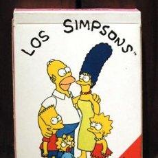 Barajas de cartas: BARAJA 1991 FOURNIER LOS SIMPSONS. CARTAS NAIPES. EXITO TELEVISION. Lote 96576323