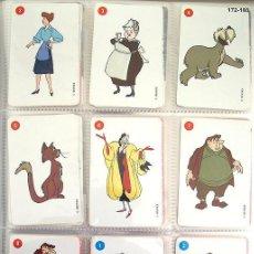 Barajas de cartas: BARAJA FOURNIER 101 DALMATAS WALT DISNEY NAIPES CARTAS. MUY BUEN ESTADO. Lote 96578923