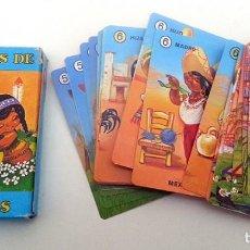 Barajas de cartas: BARAJA FAMILIAS DE 7 PAISES FOURNIER. BUEN ESTADO. CARTAS NAIPES. Lote 96581043