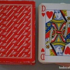 Barajas de cartas: BARAJA DE CARTAS DE PÓKER. AEROLÍNEA AIR FRANCE. AEROLÍNEA DE FRANCIA. 100 GR. Lote 96637379