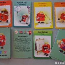 Barajas de cartas: BARAJA DE CARTAS INFANTIL. MCDONALDS. JUEGO HAPPY MEAL. AÑO 2011. 60 GR. Lote 96637747