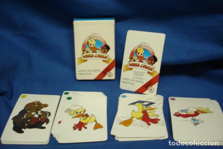 - ALFRED J. KWAK - JUEGO DE NAIPES INFANTILES FABRICADA POR FOURNIER 1987 MADE IN SPAIN (Juguetes y Juegos - Cartas y Naipes - Barajas Infantiles)